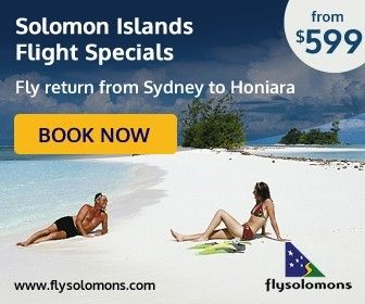 Solomon Airlines Sydney to Honiara Flight Special